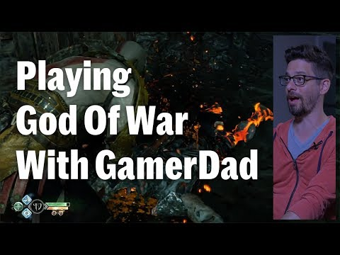Playing God Of War With GamerDad