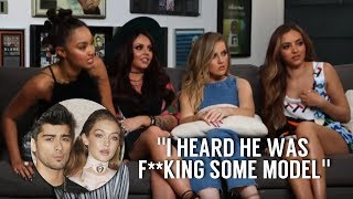 Little Mix shading Zayn Malik and Gigi Hadid for 4 minutes