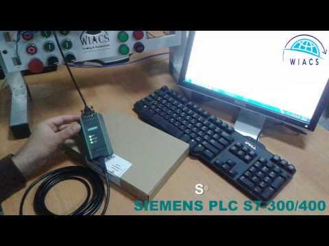 SIEMENS PLC | PLC Training | PLC S7 300 / 400 STEP7 SET PC PG Interface PII