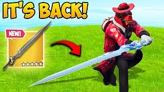 *INFINITY SWORD* IS BACK! - Fortnite Funny Fails and WTF Moments! #472