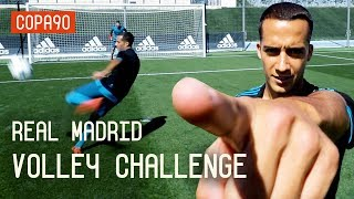 Real Madrid UCL Volley Challenge ft. Lucas Vazquez | European Nights