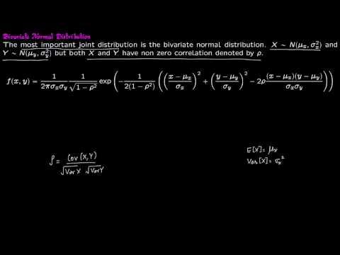Prob 7 5 Bivariate Normal Distribution