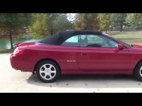 HD VIDEO TOYOTA CAMARY SOLARA SLE V6 CONVERTIBLE SEE WWW SUNSETMOTORS COM