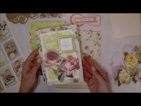 How to Work with an Anna Griffin Card Making Kit from HSN