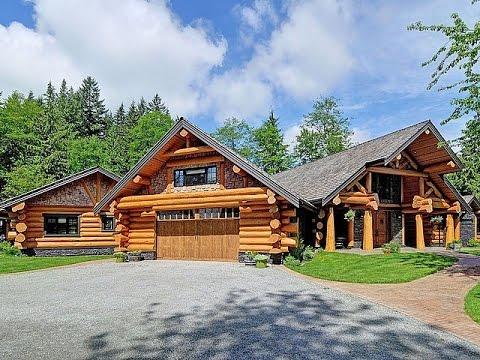 Dream Homes - Luxury Log Home & $8 Million Dollar Farmhouse
