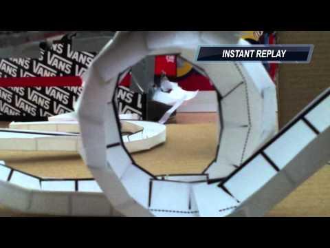 Zig Zag Loop- paper marble run