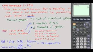 Cpm Precalculus 1 134 Converting Between Ounces Pints Teaspoons And G