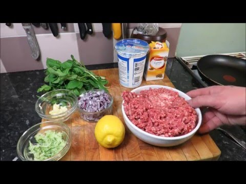 Delicious And Simple Lamb And Mint Burgers. TheScottReaProject