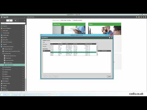 How to Import Supplier Price List from Excel to Sage 200