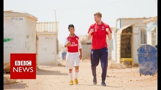 Can football help traumatised children?- BBC News