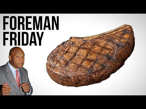 Rib-Eye Steak Grilled to Perfection on a George Foreman Grill - Foreman Friday #3