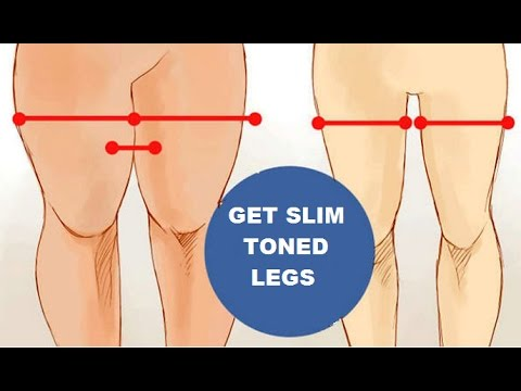 How To Lose Leg and Thigh Fat Fast (Get Slim Toned Legs)
