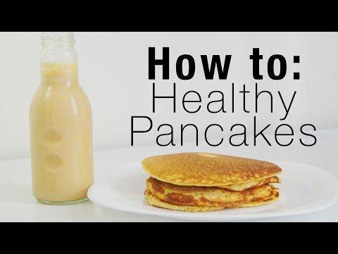 Healthy Pancakes - Using Oat Flakes (Oatmeal)