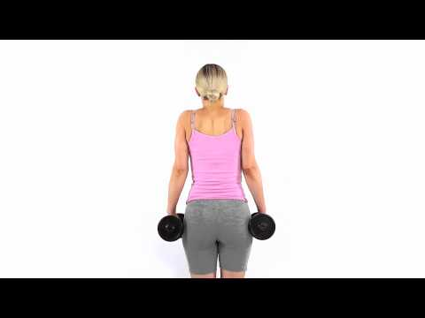 How to shoulder shrug to strengthen your upper trapezius muscle
