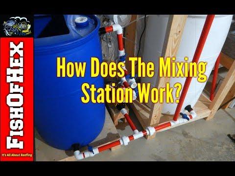 Walkthrough Of The Saltwater Mixing Station   Making Salt Water & Filling ATO