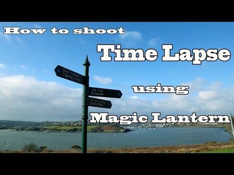 How to shoot Time Lapse using Magic Lantern
