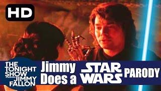 Jimmy Fallon - Star Wars Parody