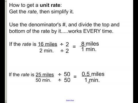 chp 6 - lesson 3 - unit rates