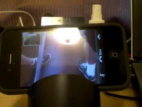 FaceTime on a jailbroken iPhone 4 via 3G WHILE ON A ROLLER COASTER @ CALIFORNIA ADVENTURE