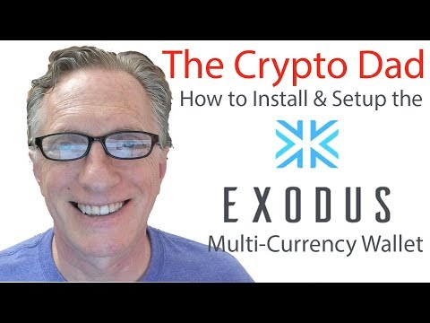 How to Install & Setup the Exodus Multi-currency Wallet