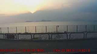 龍鼓灘停車看日落