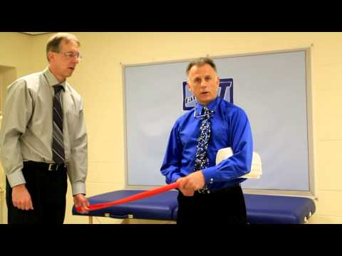 Top 3 Exercises for the Rotator Cuff (using Stretch Band)