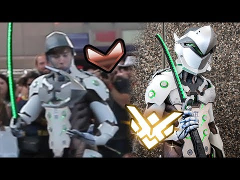 Failing Genji Cosplayer goes from Bronze to Grand Master (Top 10 Anime Moments 2017)