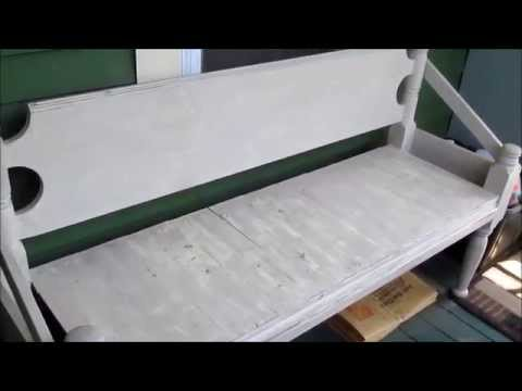 Building a Bed Bench for your porch or garden   2015