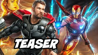 Avengers 4 Teaser Official Synopsis - Iron Man Thor New Armor