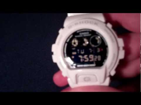 How to Turn of Hourly Beep / Signal Noise on Casio G-Shock 6900 : Tutorial