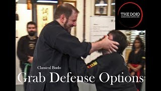 Self-Defense options for a Chest Grab Attack