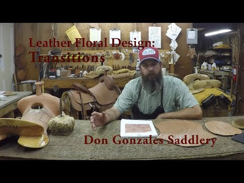 Leather Floral Design:  Transitions