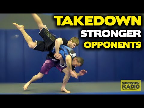 Clinch Takedowns AGAINST STRONGER opponents - by UFC Lightweight Jake Matthews
