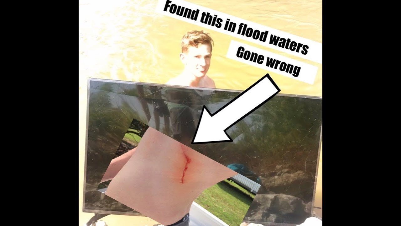 Look what we found in flood waters!!!