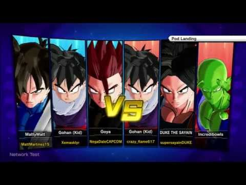 Dragon Ball Xenoverse 3v3 PvP Gameplay - HD