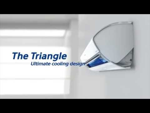 Samsung AC Triangle Design   AC with Easy to Clean Filter