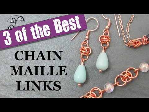 Chain Maille Jewellery Links