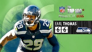 66 Earl Thomas S Seahawks Top 100 Nfl Players Of 2016