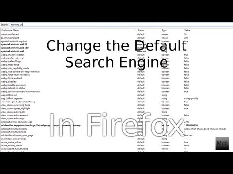 How to Change the Default Firefox Search Engine