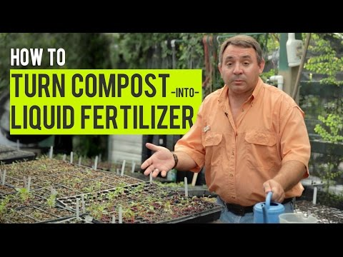 How to Turn Compost into Liquid Fertilizer