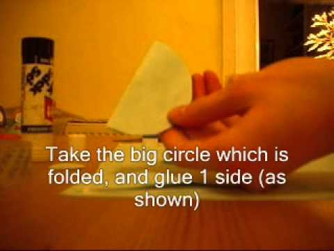 how to make a quick paper angel