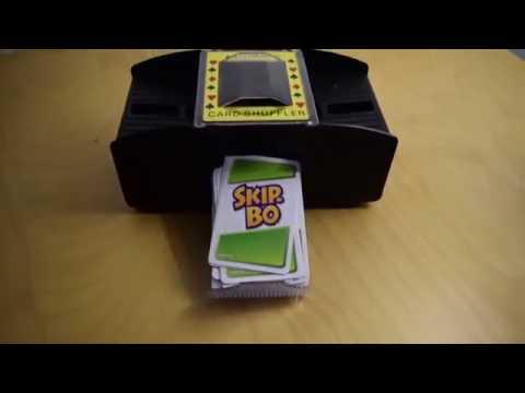 Skip-Bo automatic card shuffler