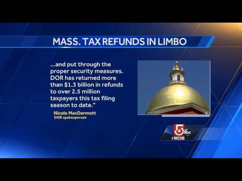 Thousands in Mass. still haven't received tax refunds