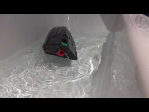 Remote Righting rc jet boat