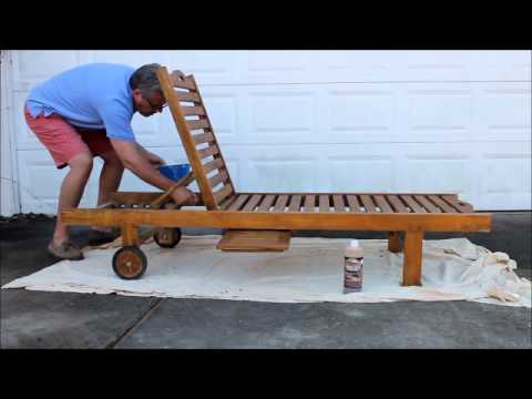 Oceanic Teak Furniture - Care & Maintenance Part 1
