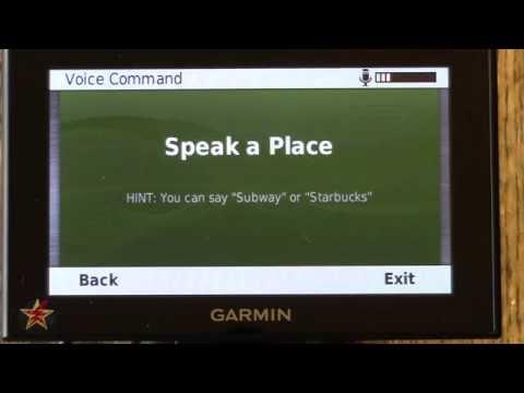 Garmin Nuvi 2599LMTHD pt.3 (Voice Commands)