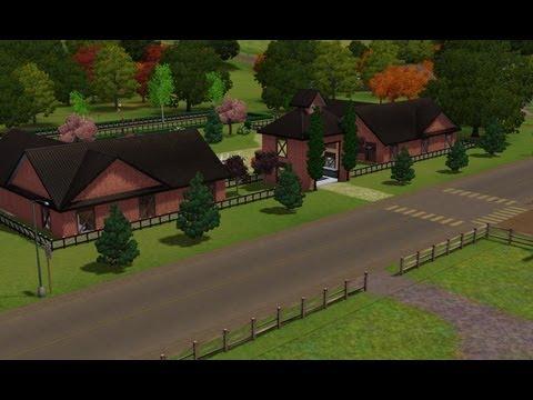 Sims 3: Robino Horse Racing Stable