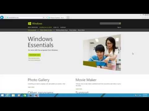 Install Windows Live Essentials on Windows 8.1