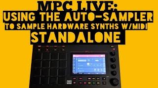 Akai MPC LIVE Tutorial - Timestretching & BPM detect