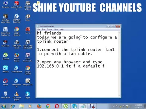 Configured tplink  router to open from anywhere by public ip address